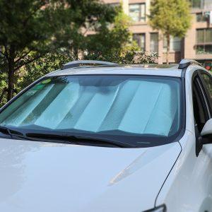 double car sun shield