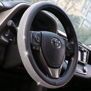 Crystal Bling Steering Wheel Cover